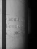 inscripción Fotografía de archivo libre de regalías