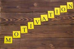 Inscripción de la diagonal de la motivación Fotos de archivo