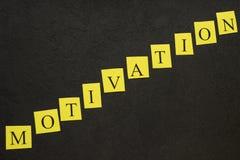 Inscripción de la diagonal de la motivación Fotos de archivo libres de regalías