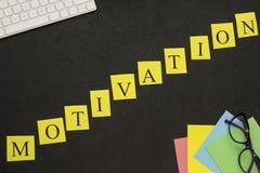 Inscripción de la diagonal de la motivación Foto de archivo libre de regalías