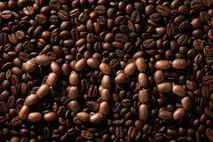 Inscripción 2015 de los granos de café Fotos de archivo libres de regalías