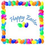 Inscripción Pascua feliz Fotos de archivo libres de regalías