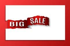 Inscription big sale. Stock Photo