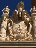 Sculpted Art in Balboa Park stock photography