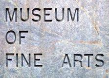 Inscription dans la pierre Photographie stock