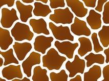 Inscription de giraffe Image libre de droits
