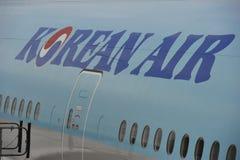 Inscription de Korean Air Photographie stock libre de droits