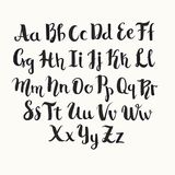 Inscription de l'alphabet latin de vecteur illustration stock