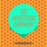 Inscription de la note montrant Seo Advertising Campaign Photo d'affaires présentant favorisant un site pour augmenter le nombre  illustration libre de droits