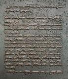 Inscription de monument d'adresse de Gettysburg photos libres de droits