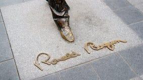 Inscription de Ronald Reagan images libres de droits