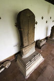 Inscription en pierre Photo libre de droits