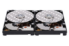 Inscription error on two HDD Stock Photography