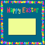Inscription Happy Easter Royalty Free Stock Photography