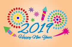 Picture for the New Year. royalty free stock photos