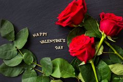 Elements for St. Valentine`s Day Royalty Free Stock Photography