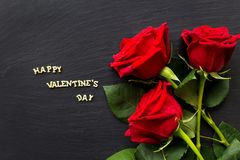Elements for St. Valentine`s Day Royalty Free Stock Image