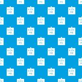 Inscription kick me pattern seamless blue. Inscription kick me pattern repeat seamless in blue color for any design. Vector geometric illustration Stock Photography
