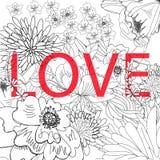 Inscription LOVE Stock Photo