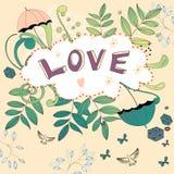 Inscription LOVE Stock Image
