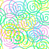 The inscription painted spring vector. Inscription Spring vector drawn on a colored background Royalty Free Stock Photos