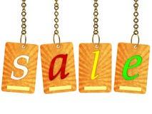 The inscription sale Stock Photo