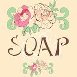 Inscription SOAP Royalty Free Stock Photography