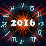 The inscription 2016 Stock Images