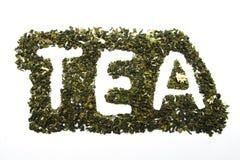 Inscription TEA royalty free stock photography