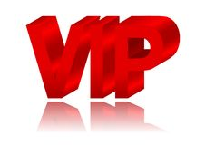 The inscription VIP Royalty Free Stock Image