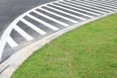 Inscriptions sur l'asphalte Image libre de droits