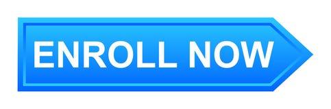 inscrivez-vous maintenant le bouton illustration libre de droits