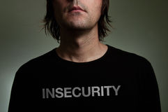 Insecurity concept Stock Image