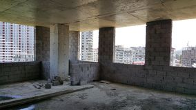 Insdoor新的大厦公寓在乔治亚 库存照片