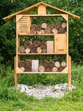 Insect and Bug Hotel Stock Photography