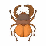 Insect bug icon, cartoon style Stock Photos