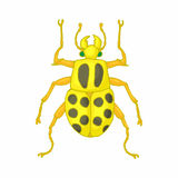 Insect bug icon, cartoon style Royalty Free Stock Image