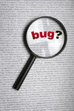 Insect in code Royalty-vrije Stock Afbeelding