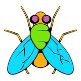 Insect fly icon, icon cartoon Royalty Free Stock Images