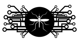 Insect future icon Royalty Free Stock Images