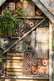 Insect Hotel Stock Photo