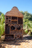 Insect hotel. The hotel for beneficial insect Royalty Free Stock Photo