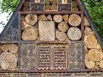 Insect hotel for brood care Royalty Free Stock Photos
