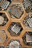 Insect hotel Stock Images
