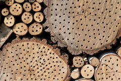 Insect Hotel Royalty Free Stock Photography