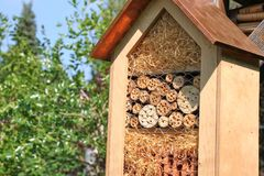 Insect hotel Royalty Free Stock Images