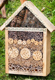 Insect house Stock Photography