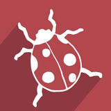 Insect icon Stock Photography