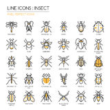 Insect , pixel perfect icon Royalty Free Stock Images