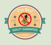Insect Repellent. Wasp Bee Hornet  illustration Stock Photo